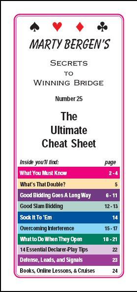 marty bergen s secrets to winning bridge booklets